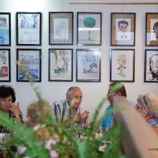 7. Izložba karikatura Lastovo 2014